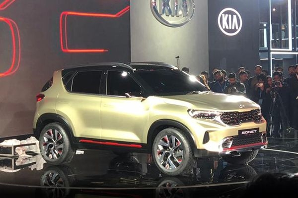 Kia Sonet to Have a Different Name for India?