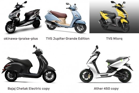 Scooters with Connected Technology
