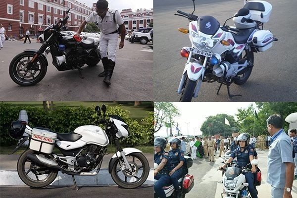 Bikes Used by India Police Force from Harley Davidson to Hero Splendor