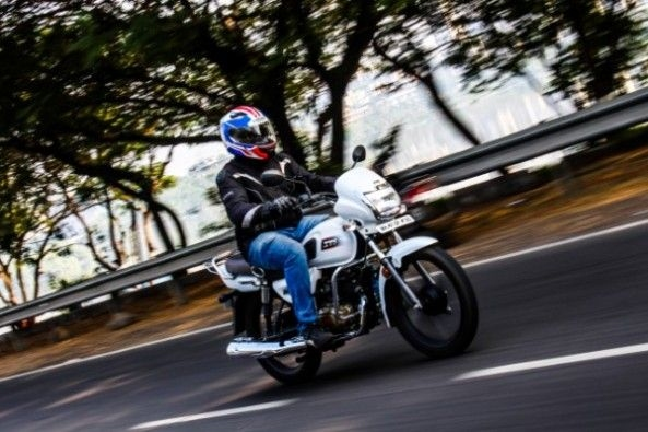 Tvs Radeon Test Ride Review Droom Discovery
