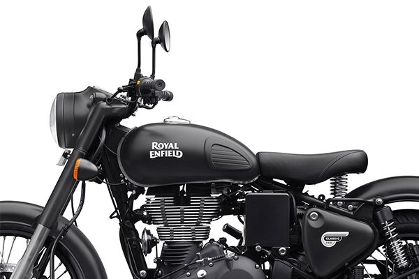 New Royal Enfield Classic Stealth Black Price, Mileage
