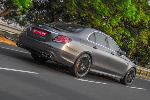 The E63s has a drift mode which converts the car the rear-wheel drive only