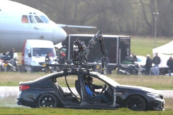 Tom Cruise During Shooting Of Mission Impossible 7