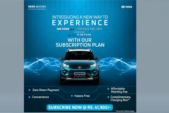 Tata Nexon Electric Subscription Scheme