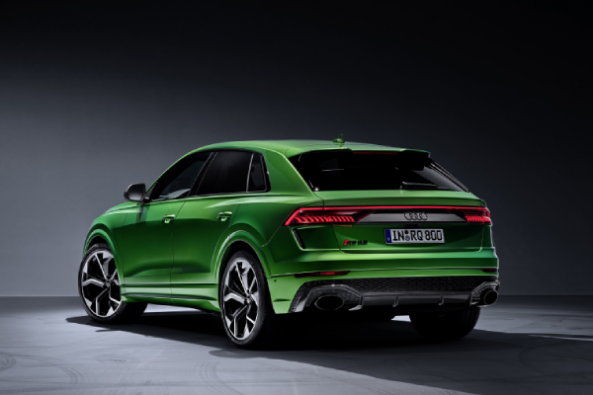 Audi RS Q8 Back Views