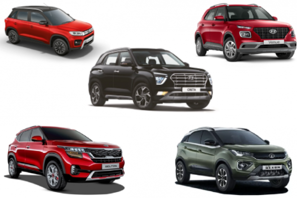 Top Selling SUV's