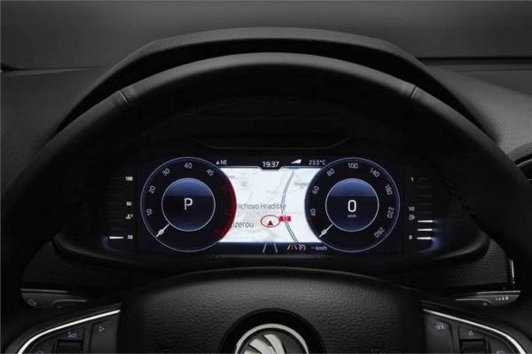 Skoda Octavia Now Gets Digital Instrument Cluster | Droom