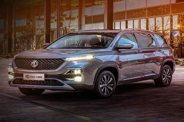 Mg Hector 7 Seater Displayed In Indonesia Ahead Of Launch In Indian
