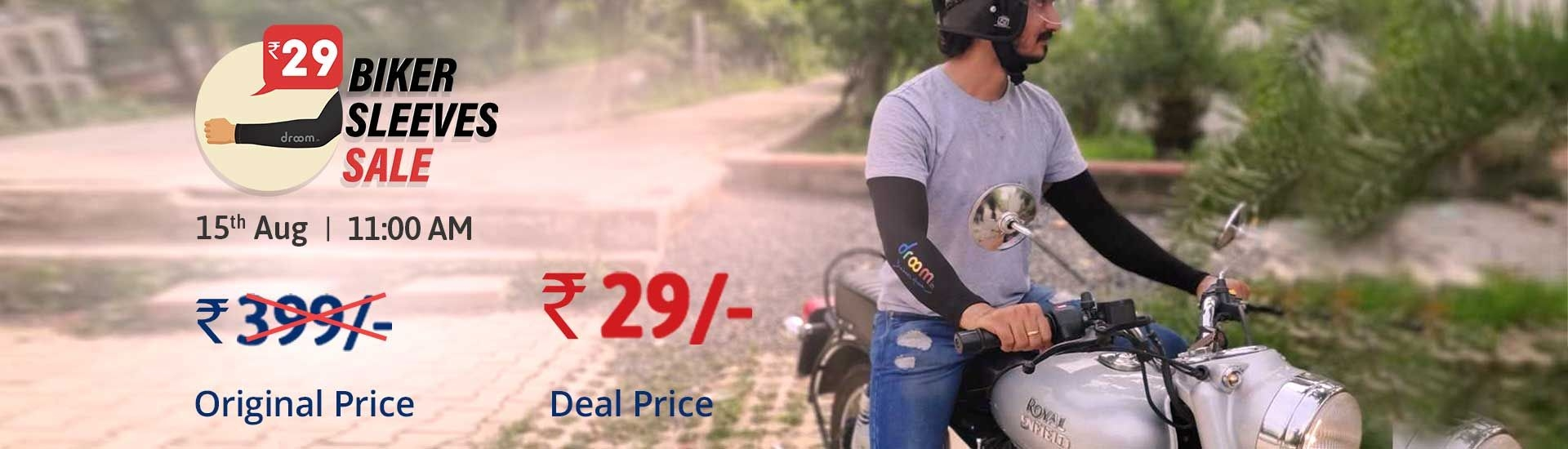Droom – Biker Sleeves Sale