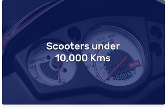 Scooters under 10,000 Kms