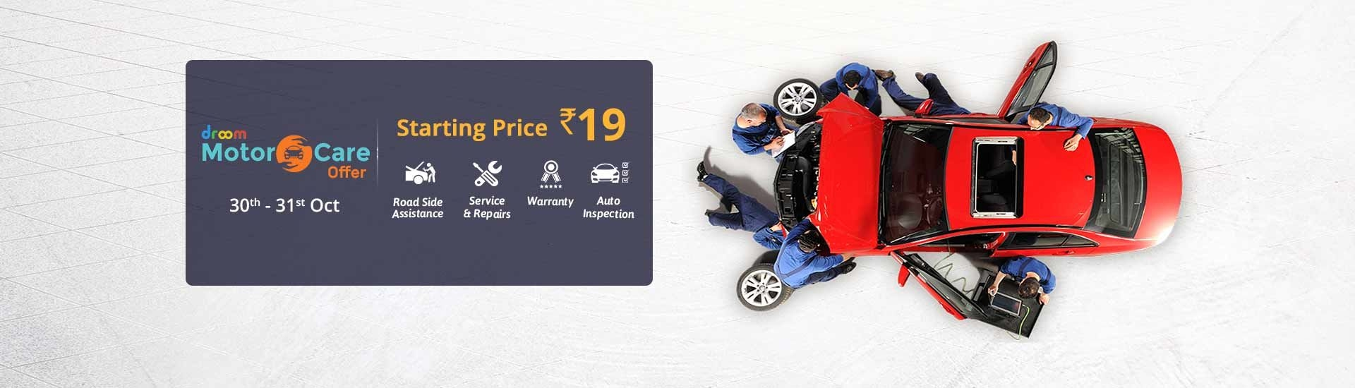 Motorcare | Droom Offer