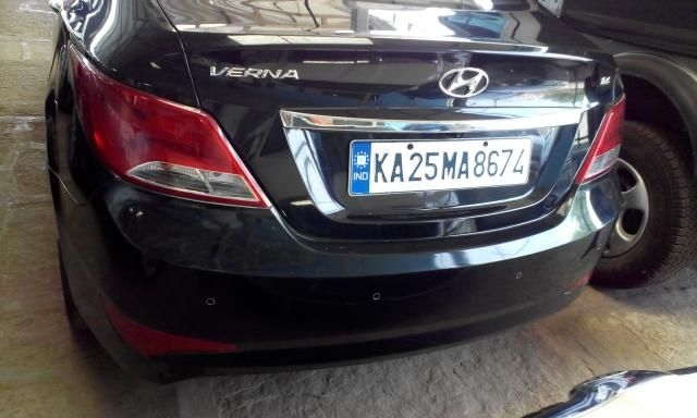 Hyundai Verna 1.6 SX CRDI AT 2015