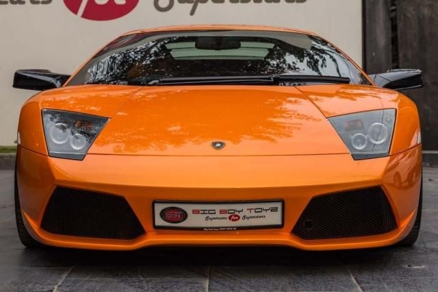 1 Used Orange Color Lamborghini Premium Super Car For Sale Droom
