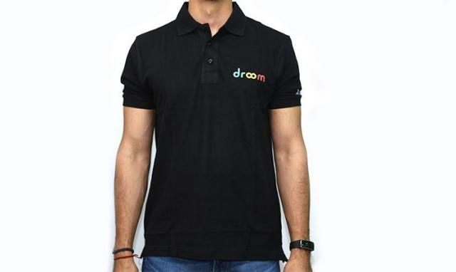 Droom T-Shirt with Collar – Size – L