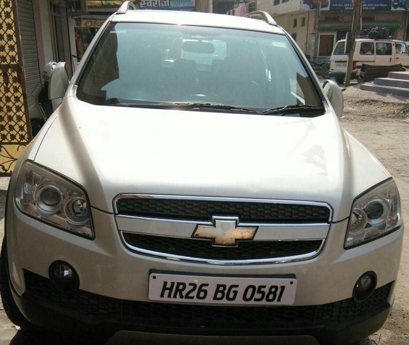Used Chevrolet Captiva: Used 2010 Chevrolet Captiva Car For Sale In Ambala- (Id
