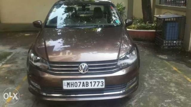 Volkswagen Vento Highline Petrol AT 2016
