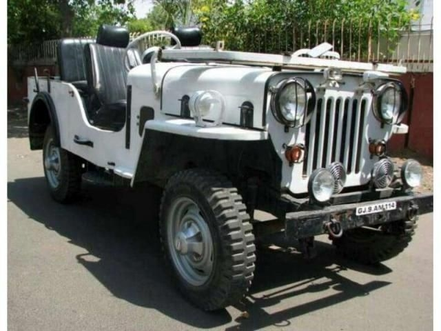 Mahindra Jeep CJ 500 DI 1980