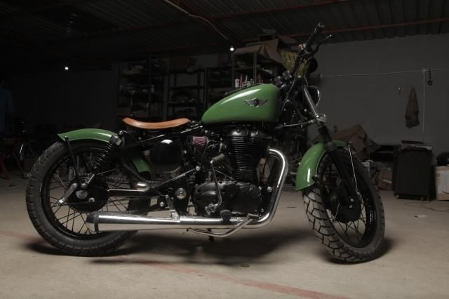 Royal Enfield Bullet Twinspark 500cc 2010