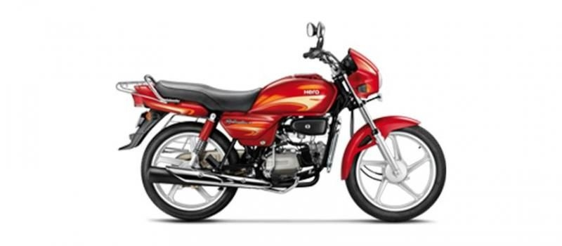 Hero Splendor plus Self Alloy 100cc 2018