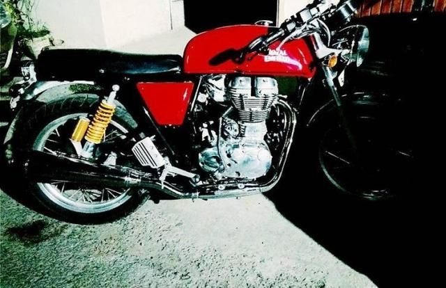 Royal Enfield Continental GT 535cc 2016