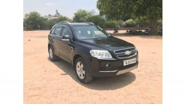 Chevrolet Captiva LTZ AWD AT 2012