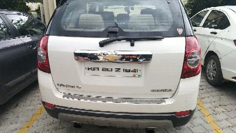 Chevrolet Captiva Car for Sale in Bangalore- (Id: 1416357920) - Droom