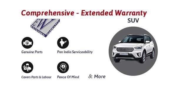 Comprehensive Warranty - Extended Warranty India Pvt. Ltd. - 1 year validity