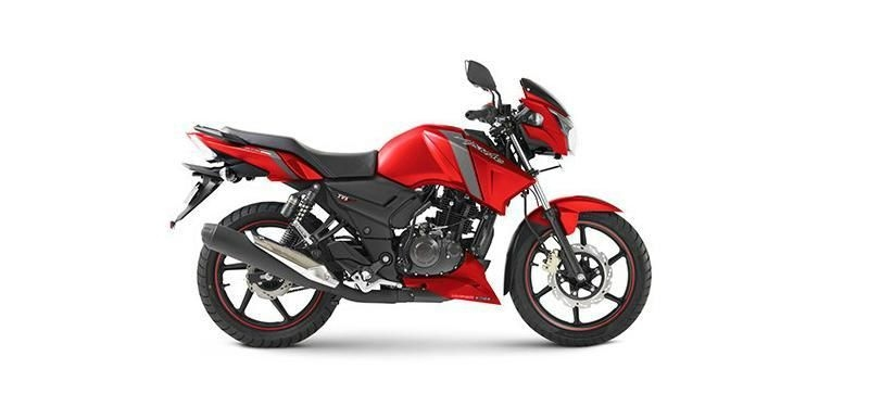TVS Apache RTR 160cc Rear Disc 2019