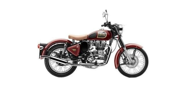 Royal Enfield Classic 350cc-Redditch Edition Dual Disc 2018