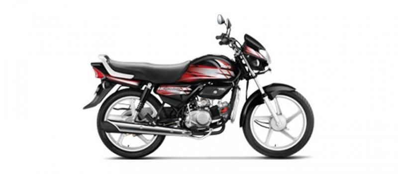 Hero HF Deluxe Self Spoke 100cc 2019