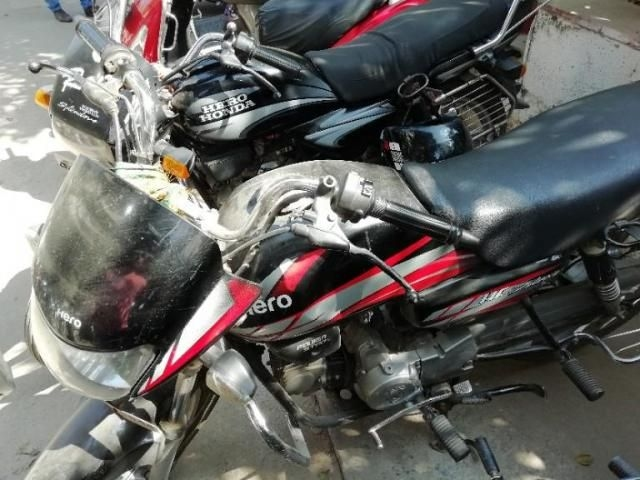 Hero HF Deluxe Self 100cc 2014