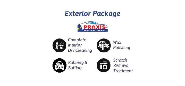 Exterior Car Care Detailing - Praxis Mobile Car Cleaning