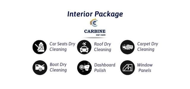 Interior Car Care Detailing - Carbine Car Care
