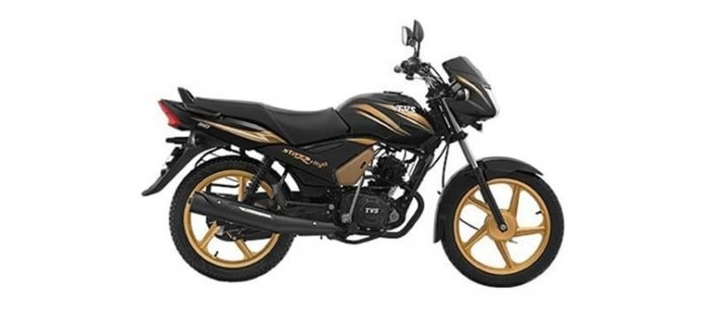 TVS Star City Plus Electric Start MAG Gold SBT 2019