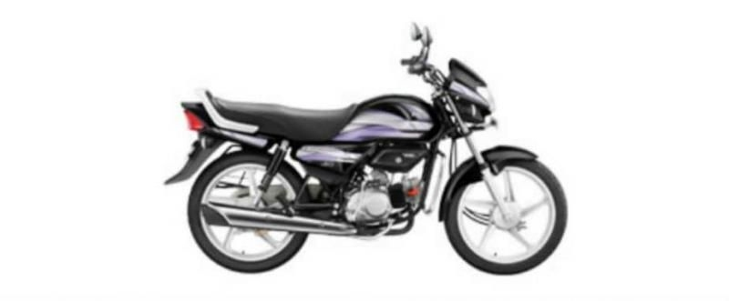 Hero HF Deluxe iBS Kick Alloy 100cc 2019
