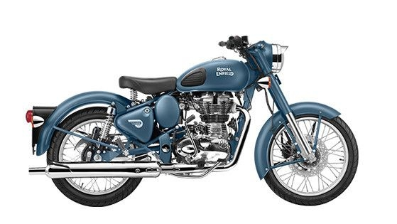 Royal Enfield Classic Squadron Blue